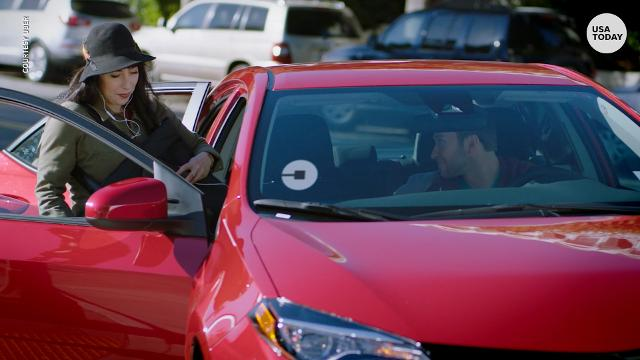 The ride-share giant has rolled out its Express Pool service, a cheaper version of  Uberpool, where Uber users walk and carpool.