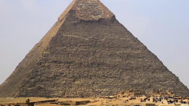 The Great Pyramid of Giza is in surprisingly accurate alignment with the cardinal directions, and one engineer thinks he knows why. Buzz60's Josh King has more.