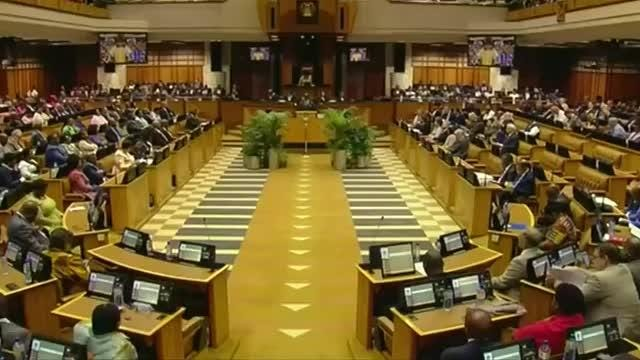 South Africa's new leadership announced on Wednesday it was taking the politically risky step of raising value-added tax for the first time in 25 years, part of efforts to cut the deficit and stabilize debt under new president Cyril Ramaphosa. Scarlett Cvitanovich reports.