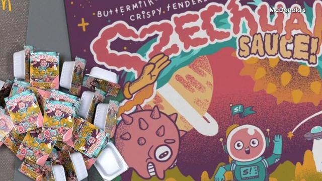McDonald's is working tirelessly to bring back the beloved szechuan sauce, and is even launching a podcast about it. Buzz60's Sam Berman has the full story.
