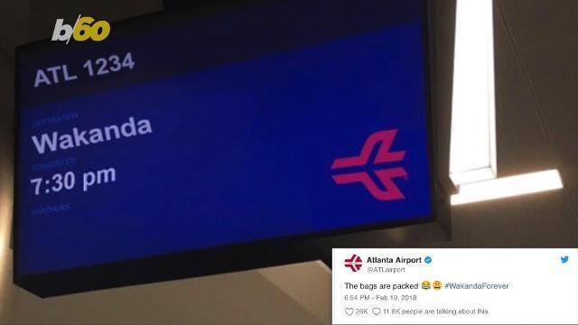 Atlanta is offering flights to Black Panther's Wakanda