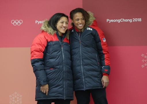 U.S. women's bobsled team member Lauren Gibbs talks about her decision to try out for the team at 30 years old.