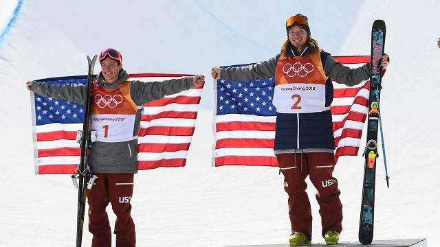 American freestyle skier David Wise came through in the clutch to earn his second-straight gold medal in the men's halfpipe. Fellow American Alex Ferrieria took silver.