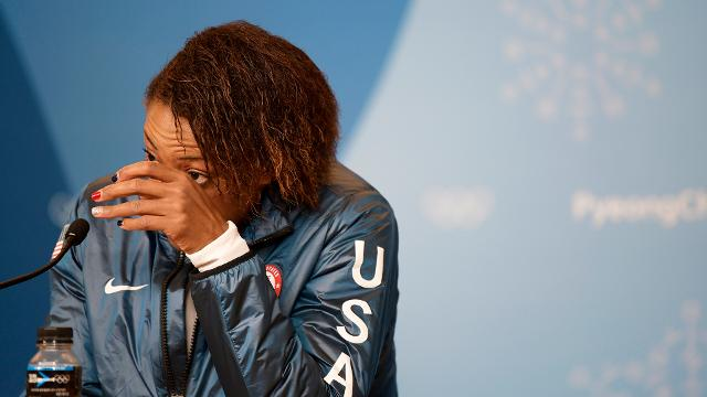 Silver medal bobsled team in tears discussing memory of Steven Holcomb