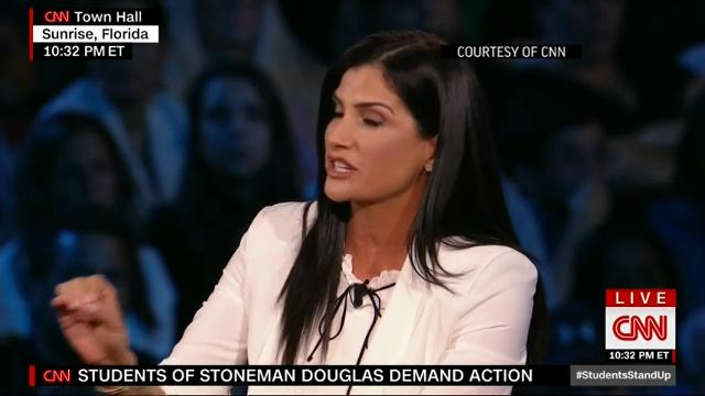 Sheriff, NRA spokeswoman clash at CNN town hall