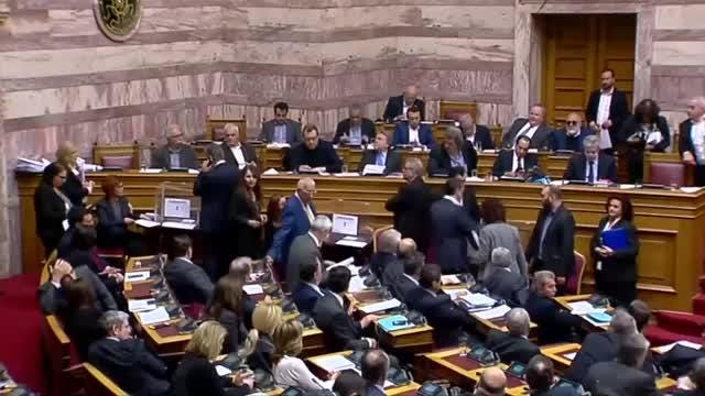 The Greek parliament voted on Thursday to investigate politicians, including former prime ministers, over allegations of bribery from the Swiss drugmaker Novartis. Kate King reports. Video provided by Reuters