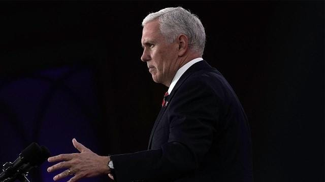 Mike Pence Addresses Olympics and North Korea At CPAC