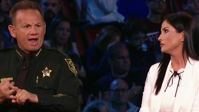 'You're wrong!' Florida Sheriff tells NRA spokeswoman