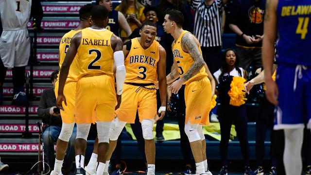 The Drexel men's basketball team overcame a 34-point deficit to defeat Delaware in the largest comeback in division one men's basketball history.