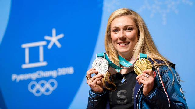 American skiing star Mikaela Shiffrin discusses how while there are many paths to greatness, perseverance and hard work are traits in all Olympians.