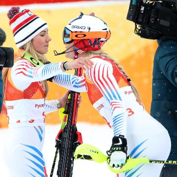 Lindsey Vonn has hinted that this will be her last Winter Olympics, but Mikaela Shiffrin doesn't think so.