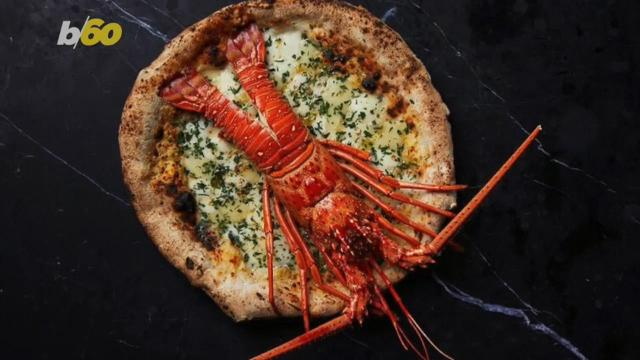 A pizza chain is serving up Lobster Pizza, but it costs a lot more than your typical pepperoni fare!