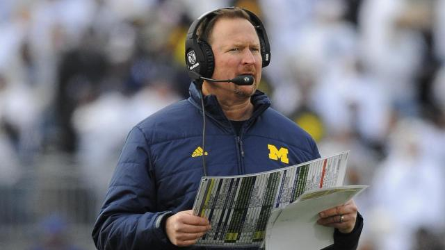 Michigan offensive coordinator Tim Drevno is stepping down after three years with the team, sources told Sports Illustrated's Bruce Feldman. The news was first reported by The Wolverine Lounge.
