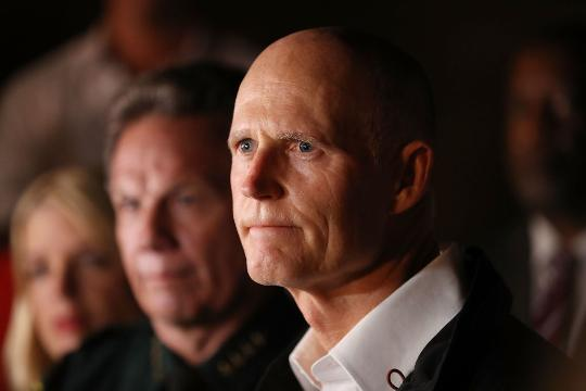 Florida governor proposes plan to prevent gun violence