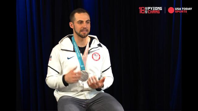Why Chris Mazdzer's phone almost broke after winning silver