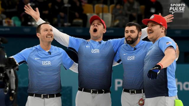 SportsPulse: Stop the Olympics, the U.S. just did something in curling no Americans have done before. SPOILERS AHEAD.