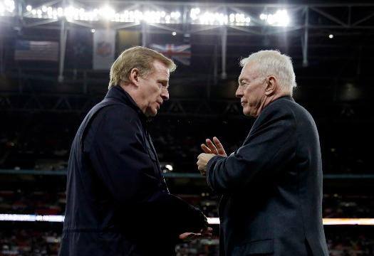 Jerry Jones Roger Goodell Feud Adds Another Chapter