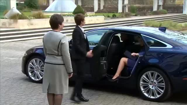 8c10a53fc85 Duchess Kate gets a case of the giggles during her latest appearance
