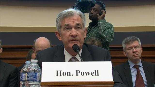 Fed Chair Jerome Powell On Strong Outlook New Rates Forecast