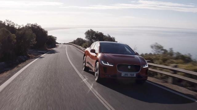 Jaguar Is Cruising Into The Electric Car Business
