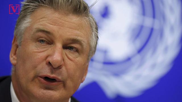 Hitting back at Donald Trump, Alec Baldwin says his impersonation of the president isn't going anywhere until he's out of office. Nathan Rousseau Smith has more.