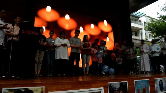 MH370 victims' family members mark four years