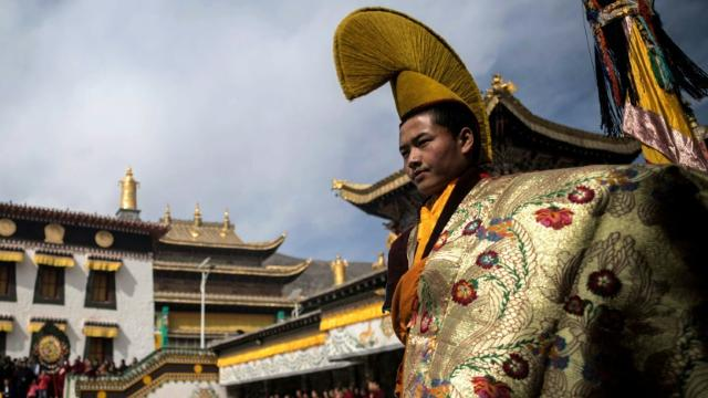 Tibetans greet new year with religious ritual Video provided by AFP