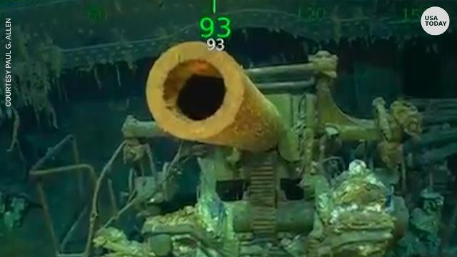 USS Lexington, lost in WWII, now found