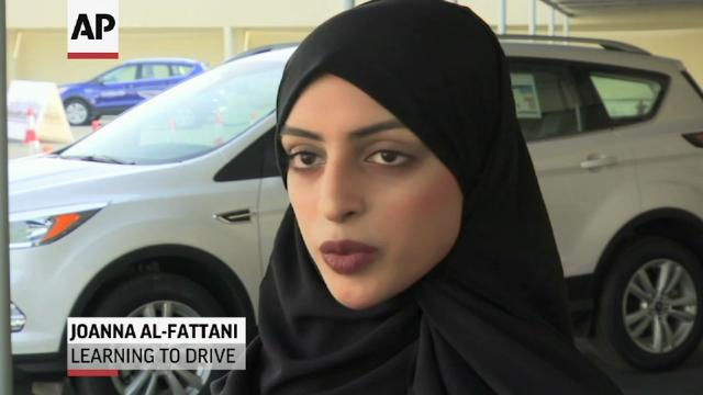 Saudi women ready to test-drive new freedom