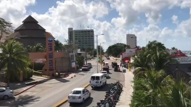 A travel warning has been issued for Playa del Carmen, Mexico, following an unnamed threat that has closed the U.S. Embassy there.