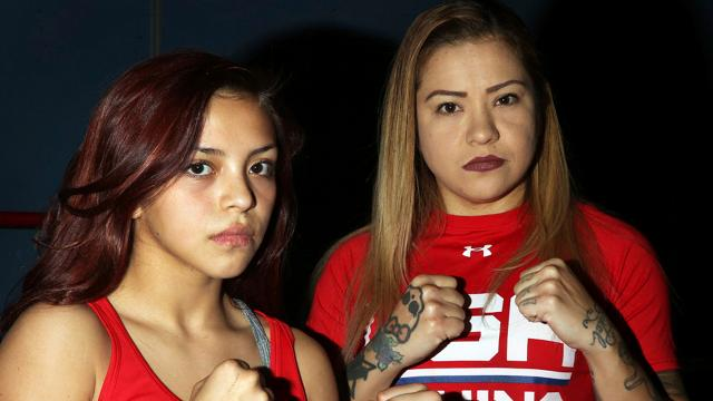 Mother, daughter chase boxing dreams together