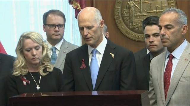 Fla. Gov. Rick Scott signs gun control bill
