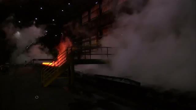 President Trump's new steel and aluminum tariffs are aimed at protecting U.S. jobs but some workers at a Pennsylvania steel plant could be sent to the unemployment line as a result.  Conway G. Gittens reports. Video provided by Reuters