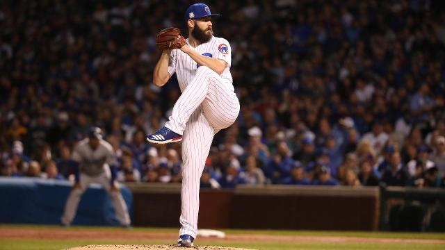Jake Arrieta, winner of the 2015 Cy Young award as a member of the Cubs, has agreed to a three-year contract with the Philadelphia Phillies.