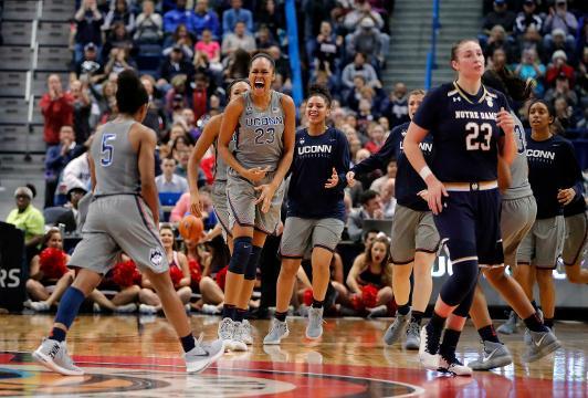 NCAA women's basketball tournament: UConn No. 1 overall seed