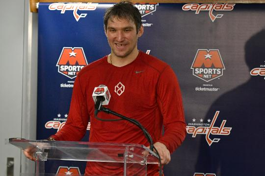 Alex Ovechkin on March 12 became the 20th NHL player to net 600 goals.