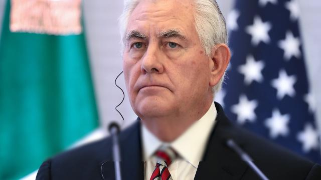 Rex Tillerson ousted by Trump via Twitter