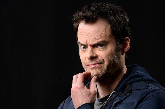 "Bill Hader has a new, dark HBO comedy, ""Barry"" (premiering March 25), in which the former SNL star plays a hitman bitten by the acting bug."