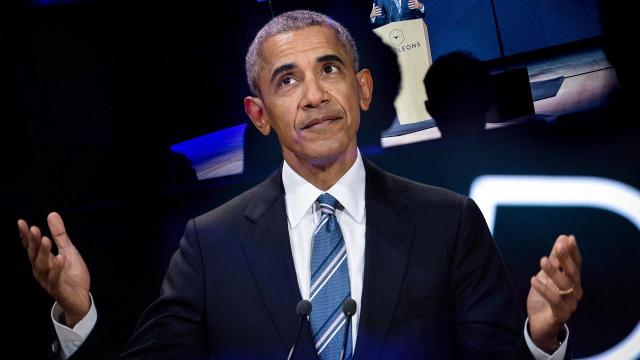 Former President Barack Obama makes his NCAA Tournament predictions