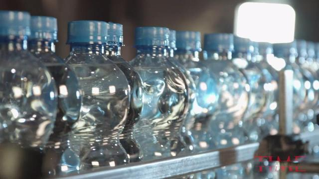 Microplastics found in major brands of bottled water