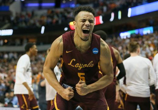 SportsPulse: Loyola players describe their shocking, come-from-behind upset and the importance of No. 1 fan Sister Jean, the team's 98-year old chaplain turned viral star.