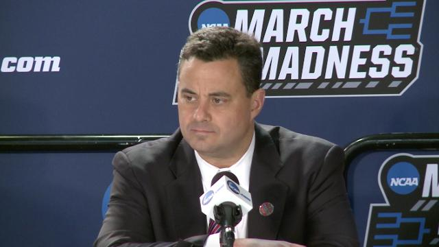 Arizona coach Sean Miller spoke about his team's upset loss against Buffalo in the first round of the NCAA tournament.