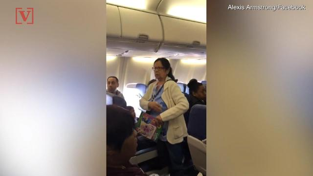 Shocking moments captured from inside a Southwest Airlines flight show a toddler and her family kicked off the plane against their will. Nathan Rousseau Smith has the story.