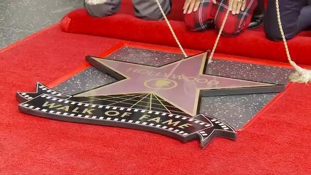 Drag queen and television personality RuPaul receives the 2,631st star on the Hollywood Walk of Fame.