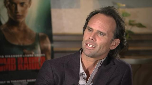 """New """"Tomb Raider"""" villain Walton Goggins isn't content to be just an actor. He may hold his own across from Alicia Vikander in the new action movie, but he is also a passionate entrepreneur. (March 16)"""