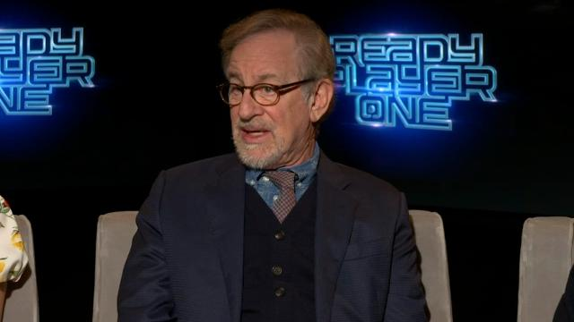 "Steven Spielberg praises ""Black Panther"" director Ryan Coogler and says the superhero movie is probably ""the largest cultural break-out film of the last decade."" (March 17)"