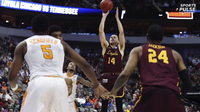 SportsPulse: Loyola-Chicago upset No. 3 Tennessee in the second round of the NCAA tournament with another dramatic, last-second victory.