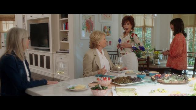 "Diane Keaton, Jane Fonda, Candice Bergen and Mary Steenburgen star in ""Book Club."""