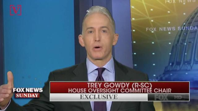 Outgoing GOP Representative Trey Gowdy called out President Trump's lawyer for wanting to end special counsel Robert Mueller's investigation. Veuer's Maria Mercedes Galuppo has the story.