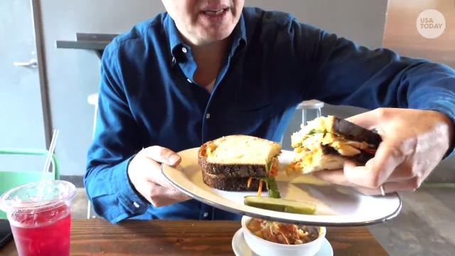 """Phil Rosenthal, the host of Netflix's """"Somebody Feed Phil,"""" meets Jefferson Graham for lunch, and reveals his top 3 favorite destinations in the world."""